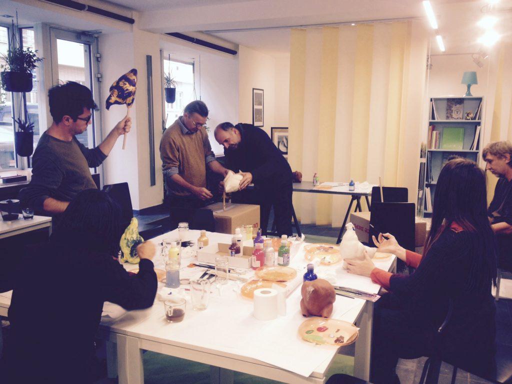 ohlédnutí za kreativní dílnou galerie CoCo